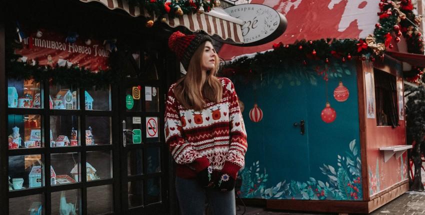 Рождественский свитер с праздничным настроением - отзыв покупателя
