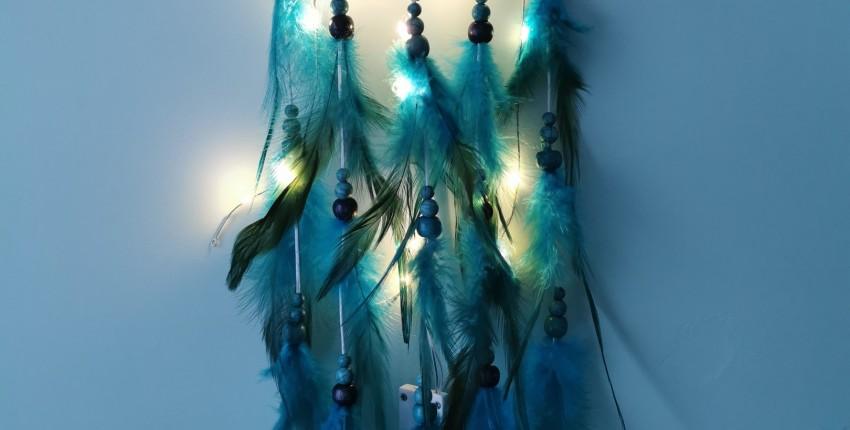 Красивущий ловец снов с подсветкой - отзыв покупателя