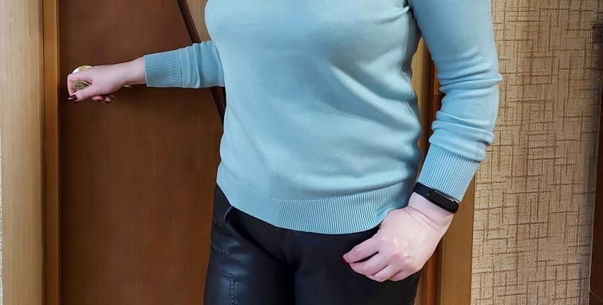Очень комфортный красивый свитер на осень-зиму - отзыв покупателя