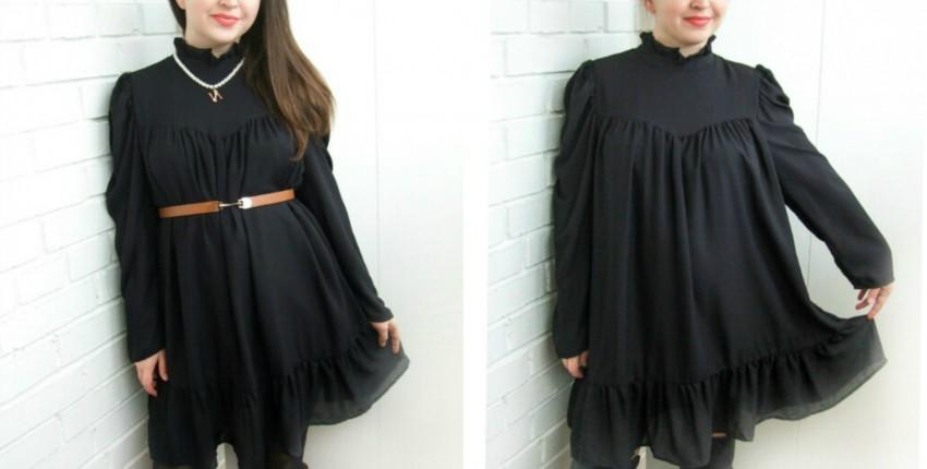 Маленькое черное платье с Алиэскпресс - отзыв покупателя