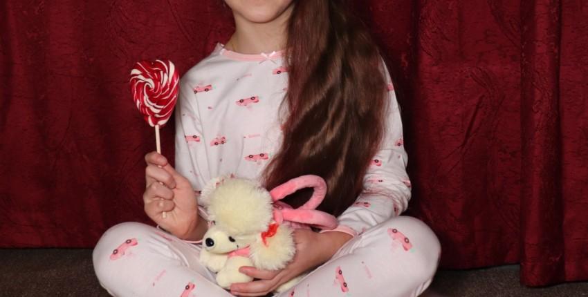 Хлопковый пижамный комплект  для девочек. - отзыв покупателя