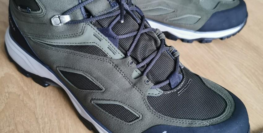 Мужские ботинки MH100 QUECHUA Decathlon - отзыв покупателя