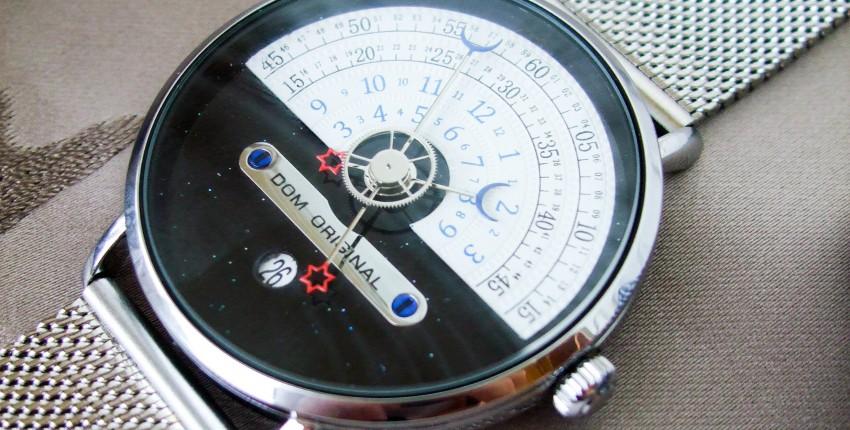 Мужские наручные часы DOM с оригинальным дизайном - отзыв покупателя