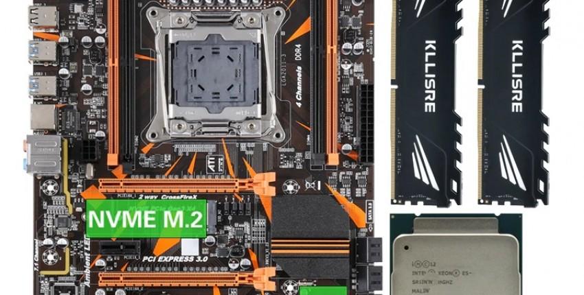 Комплект для сборки ПК Xeon 2011-3 - отзыв покупателя