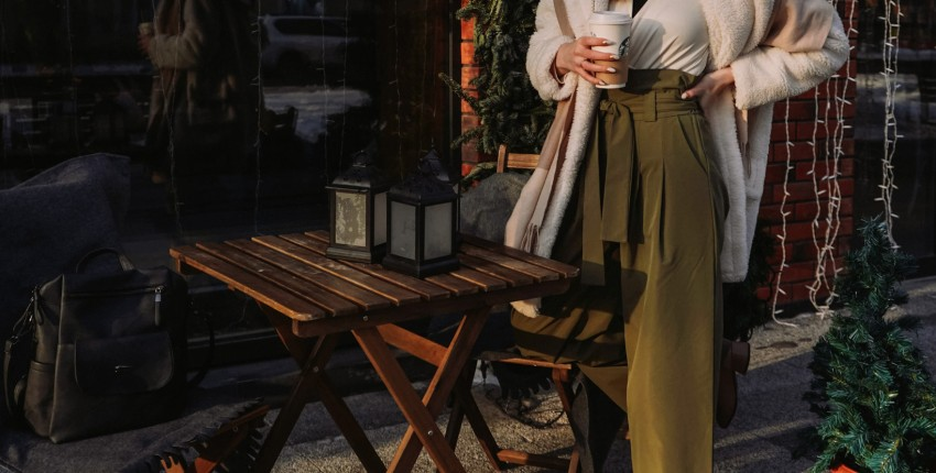 Невероятно стильные широкие брюки с высокой талией - отзыв покупателя