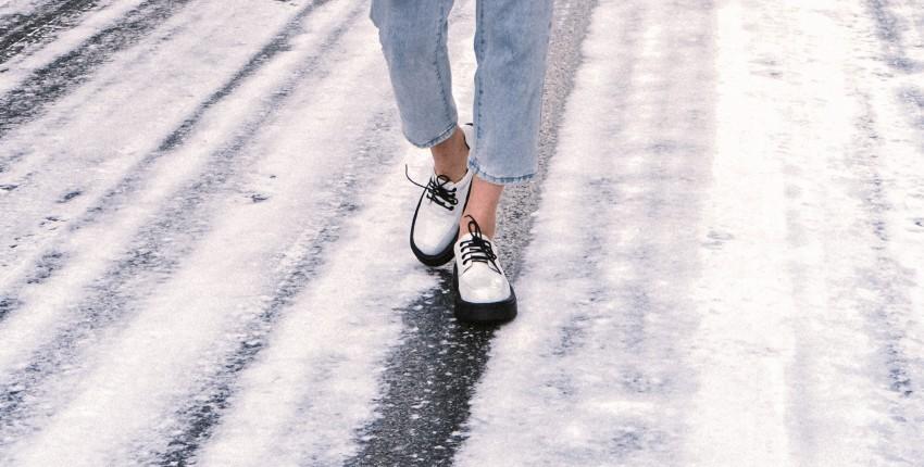 Лакированные черно-белые ботинки с Алиэкспресс - отзыв покупателя