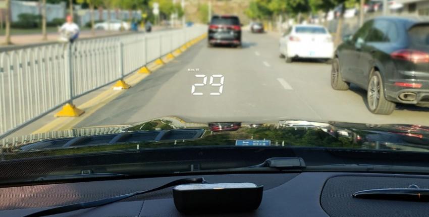 Дисплей проекционный на лобовое стекло автомобиля. Вся информация на виду. - отзыв покупателя