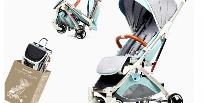 Универсальная детская коляска трансформер с Алиэкспресс. Легкая и компактная. - отзыв покупателя