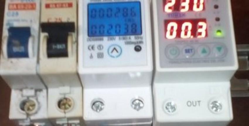 Реле напряжения TOMZN TOVPD1-63-EC     с защитой по току с AliExpress - отзыв покупателя
