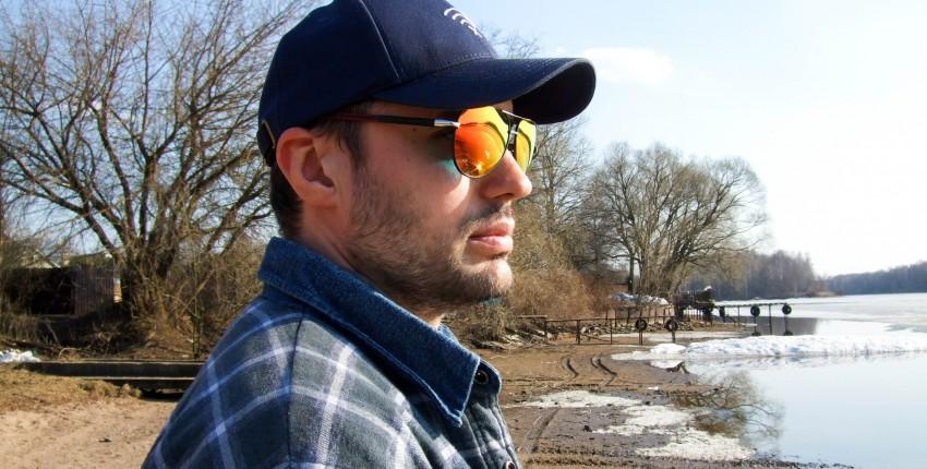 Мужские поляризационные солнцезащитные очки с яркими зеркальными линзами - отзыв покупателя