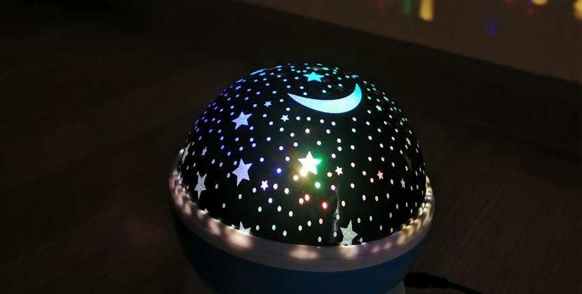 Звездный светодиодный проектор - отзыв покупателя