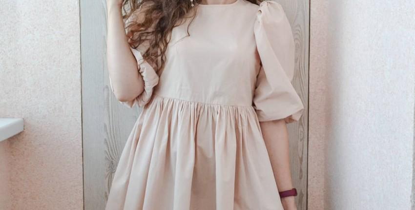 Платье с пышными рукавами OOTN - отзыв покупателя