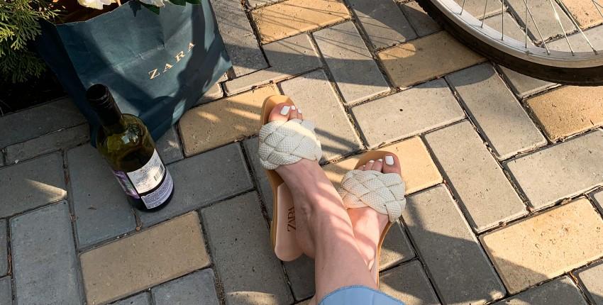 Роскошные босоножки на летние денечки - отзыв покупателя