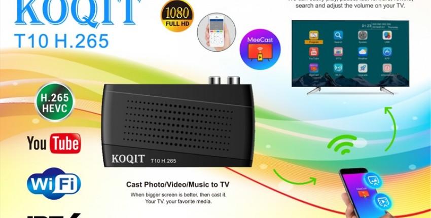Koqit T10 H.265 HEVC 10Bit DVB-T2 DVB-C IPTV - отзыв покупателя