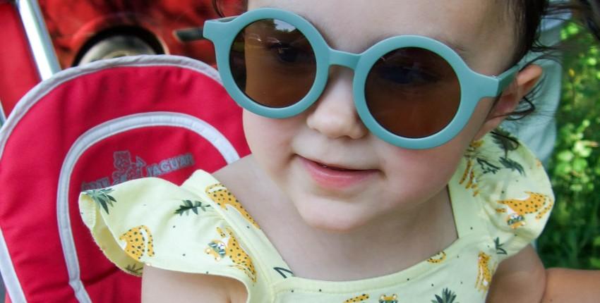 Детские бюджетные солнцезащитные очки с Алиэкспресс - отзыв покупателя