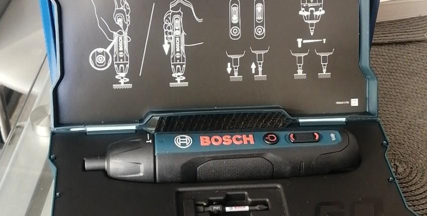 Аккумуляторная отвертка BOSCH - отзыв покупателя