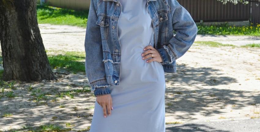 Платье-футболка в стиле оверсайз - отзыв покупателя