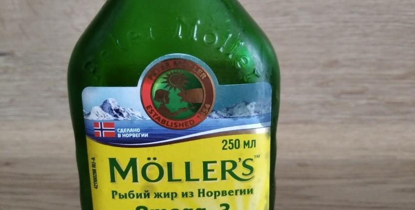 Möllers, рыбий жир из Норвегии. - отзыв покупателя