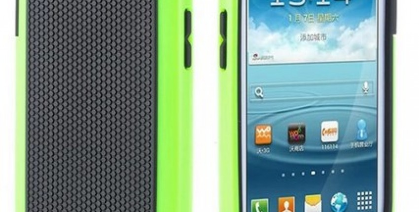 Plastic Shockproof Case Silicone Cover For Samsung Galaxy S3. - User's review