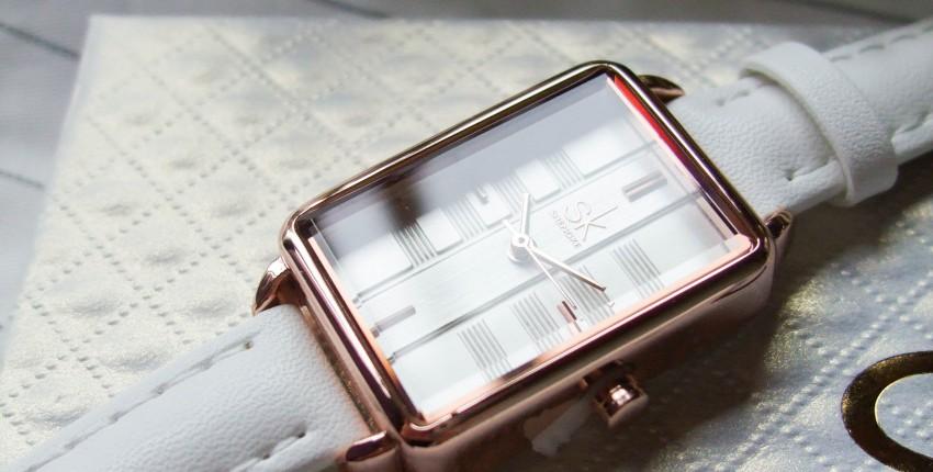 Изящные наручные часы Shengke с Алиэкспресс - отзыв покупателя