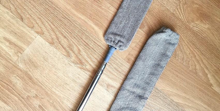 Телескопическая щётка для уборки пыли под мебелью и в труднодоступных местах - отзыв покупателя