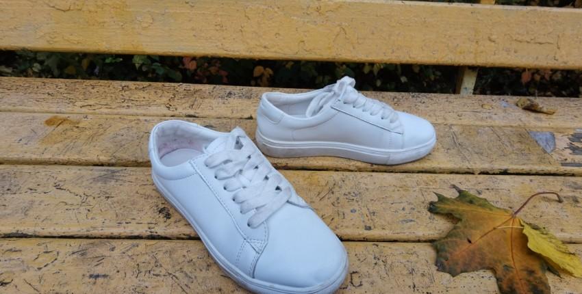 Белые кроссовки женские на шнурках Malemonkey - отзыв покупателя