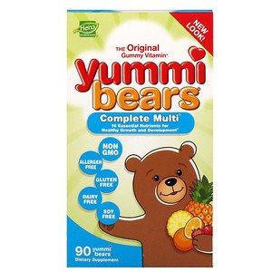 Биологические витамины Мишки Юмми