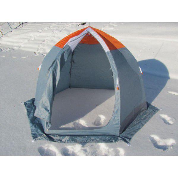 Палатка зимняя Митек Омуль 3-местная для зимней рыбалки на льду.
