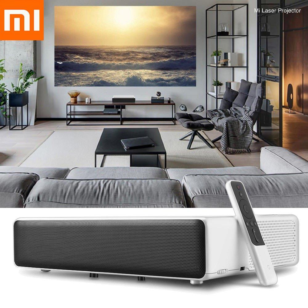 Оригинальный лазерный проектор Xiao mi jia tv дюймов 150 дюймов