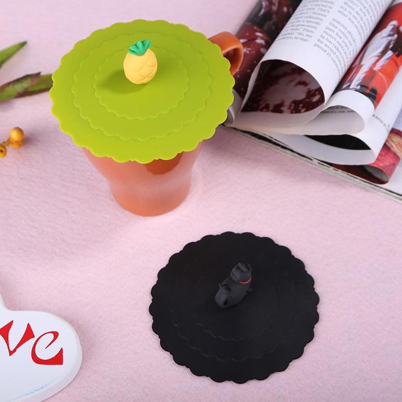 Силиконовые герметичные крышки для чашек