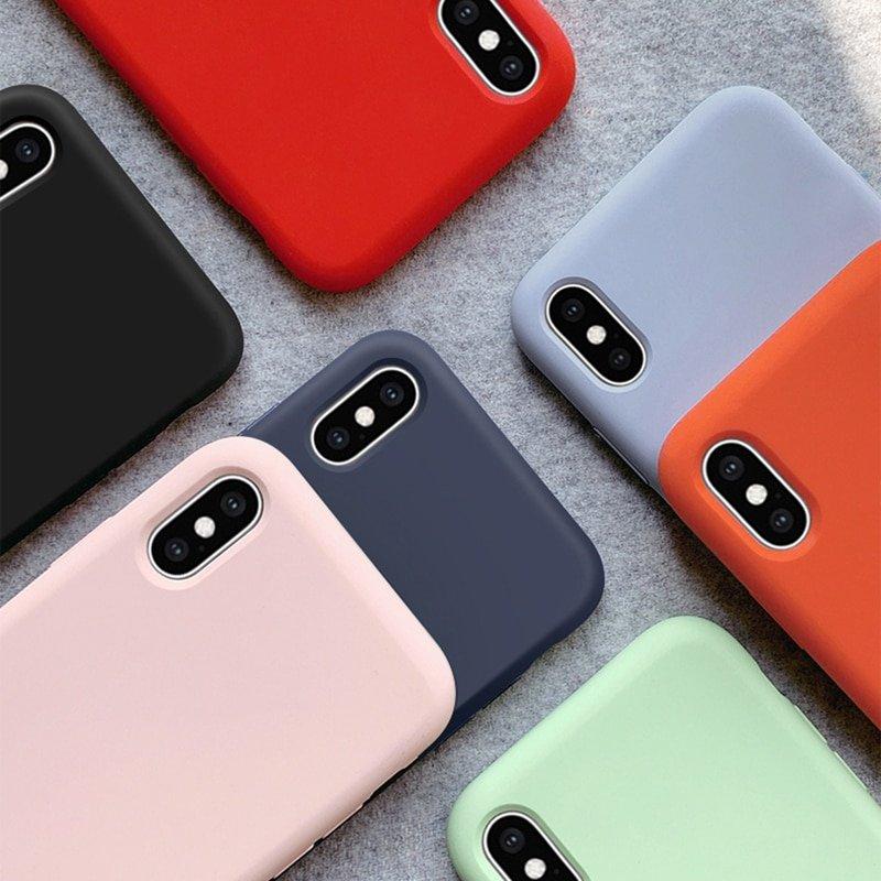 Силиконовый чехол для iPhone ВСЕХ МОДЕЛЕЙ!