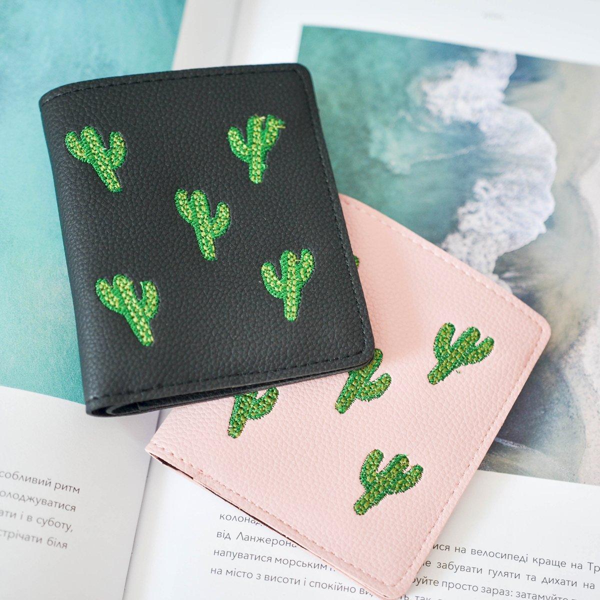 Интересные кошельки с кактусами