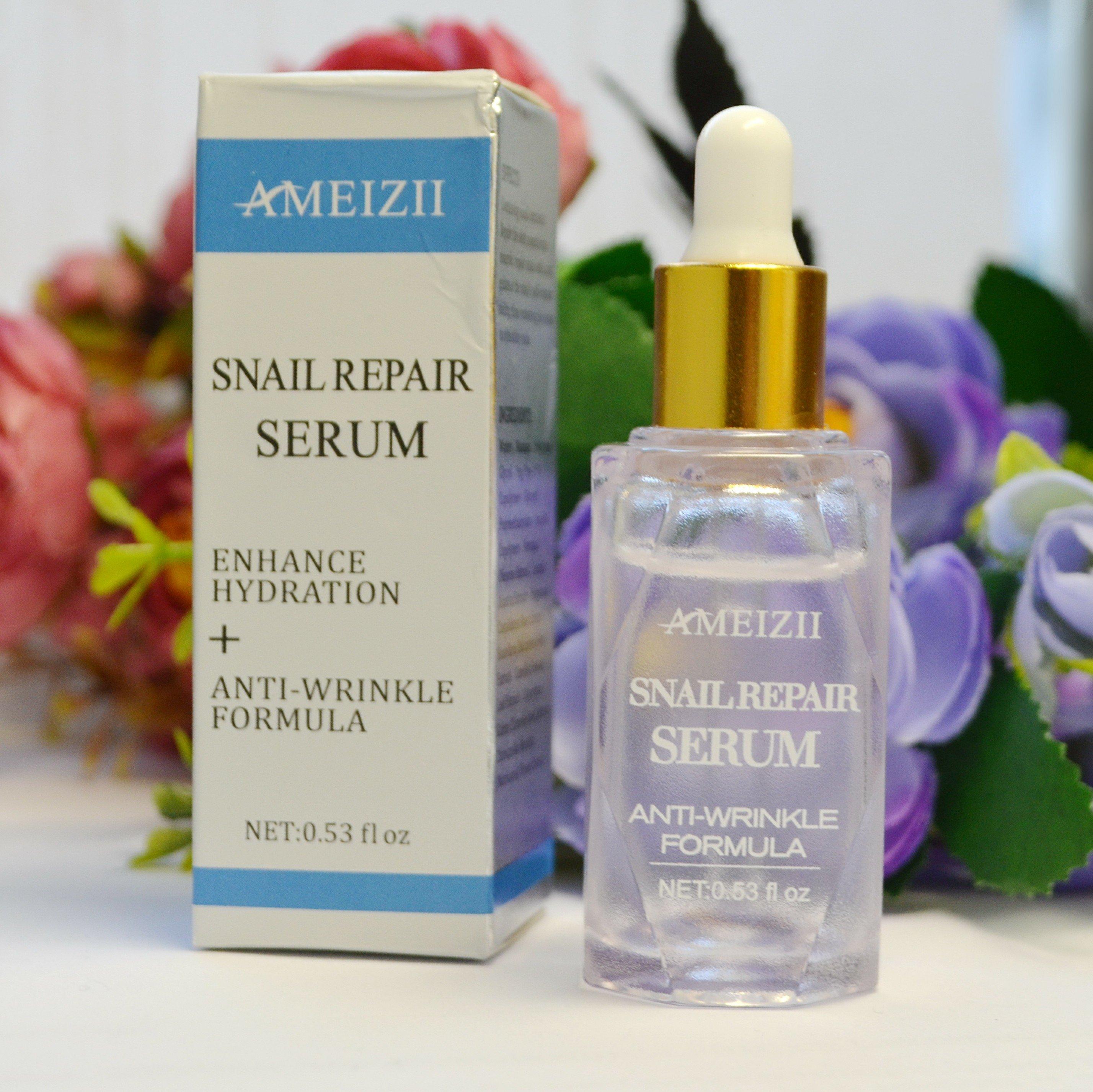 Многофункциональная сыворотка от морщин и прыщей AMEIZII Snail Repair