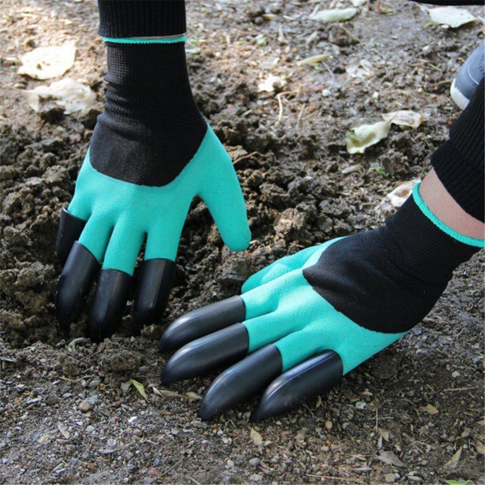 Перчатки для сада с коготками.
