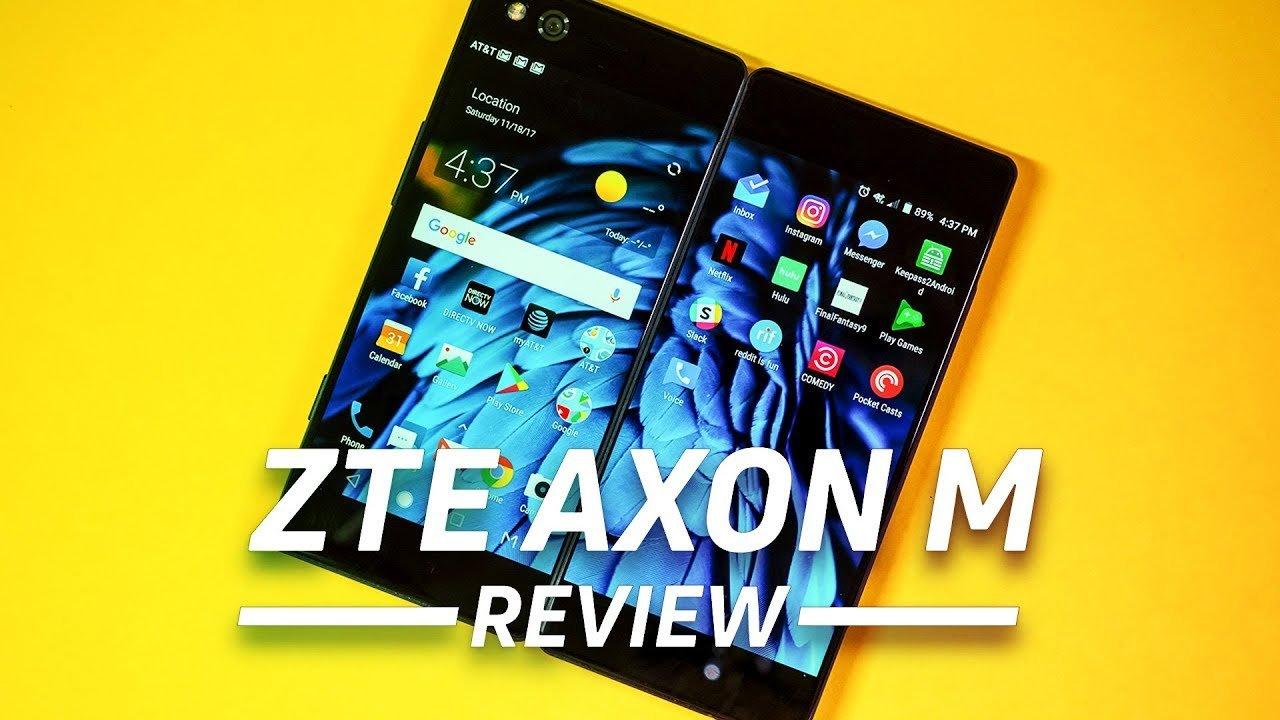 Оригинальный zte AXON M складной Экран