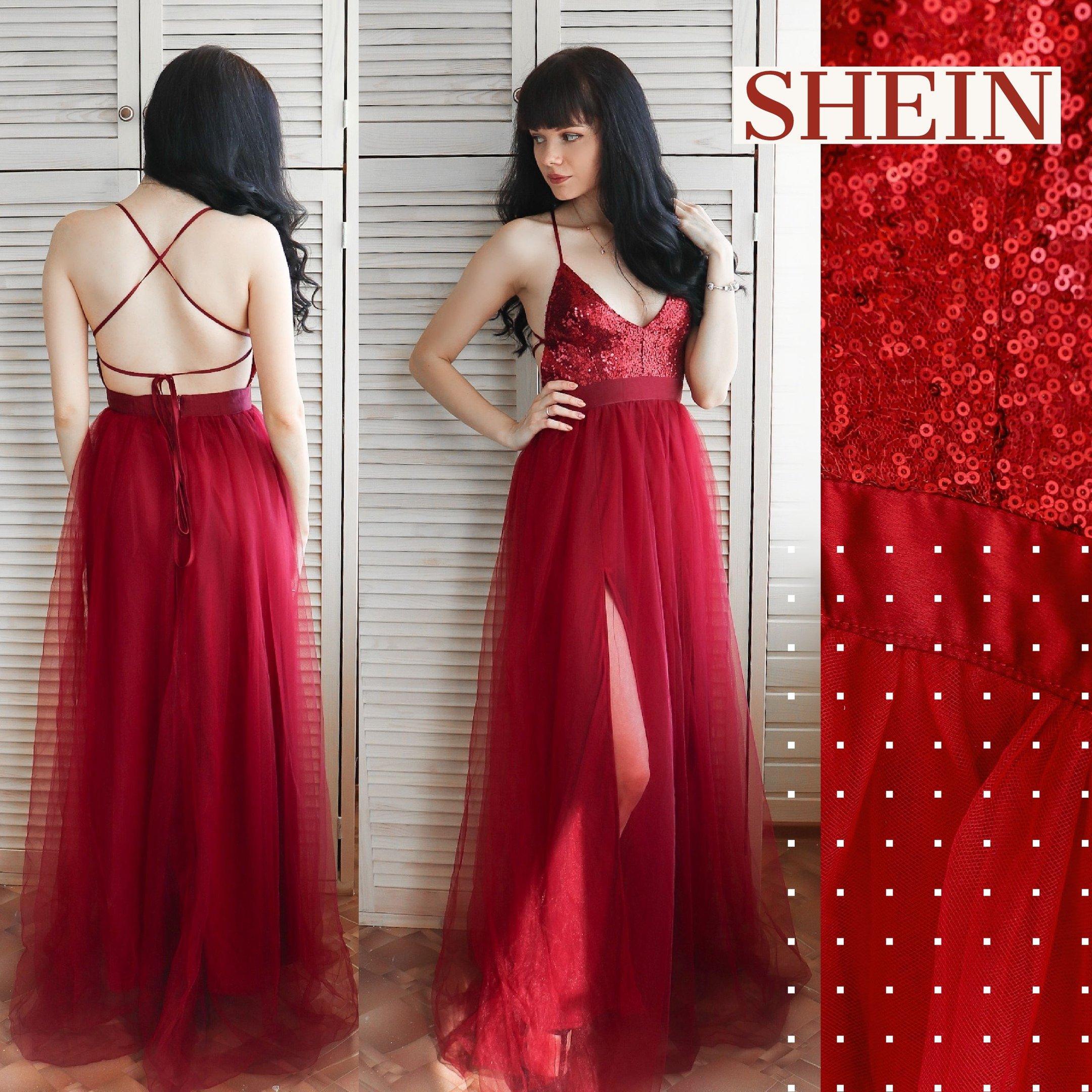 Шикарное платье от SHEIN