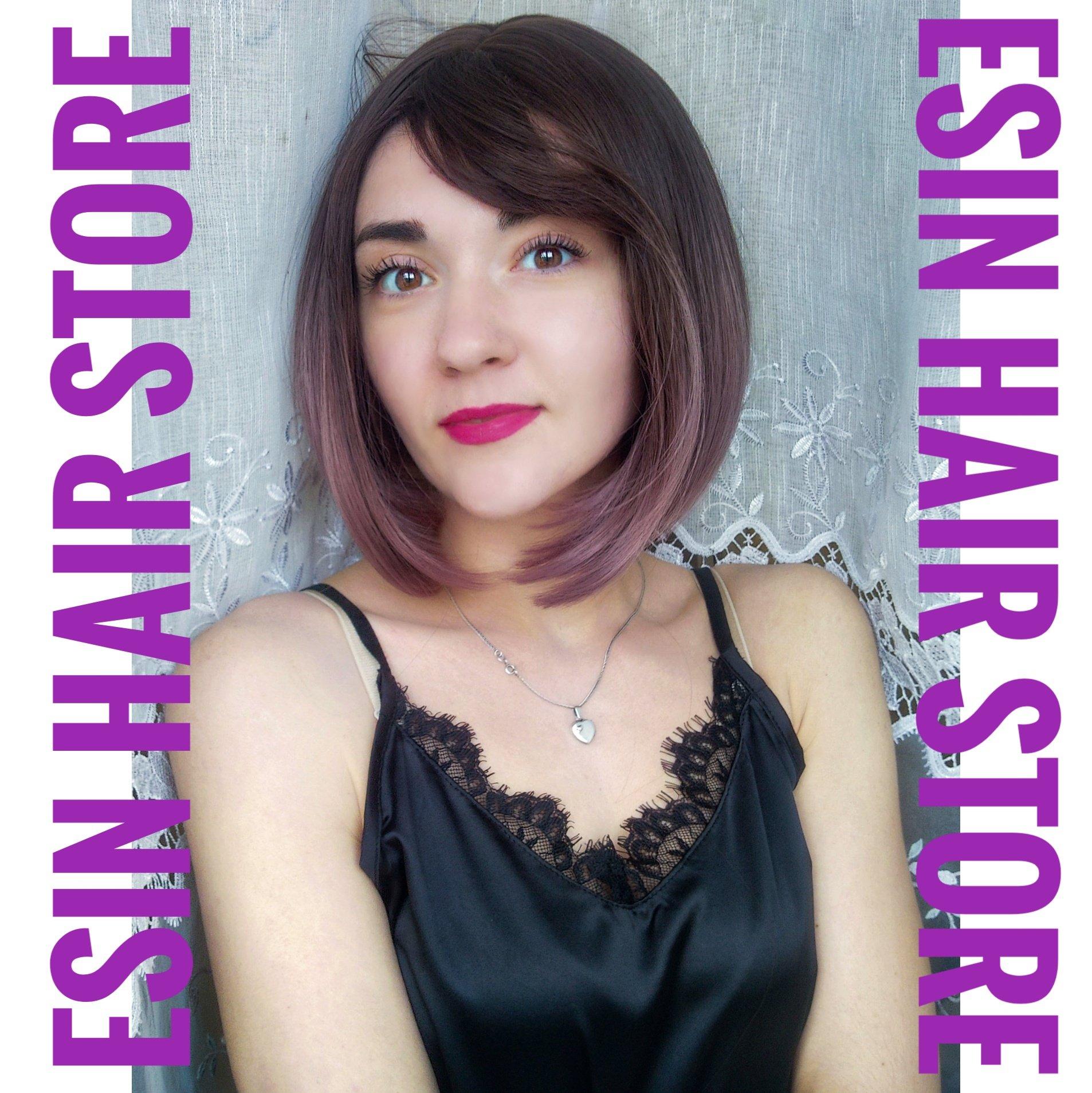 ...когда очень хочется сменить имидж - примерь парик!  Магазин: Esin Hair Store