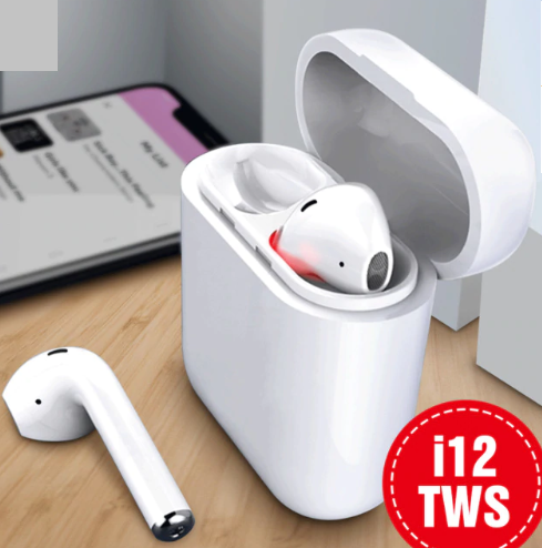 Новинка i12 TWS Touch Contral Bluetooth 5,0 наушники беспроводные наушники