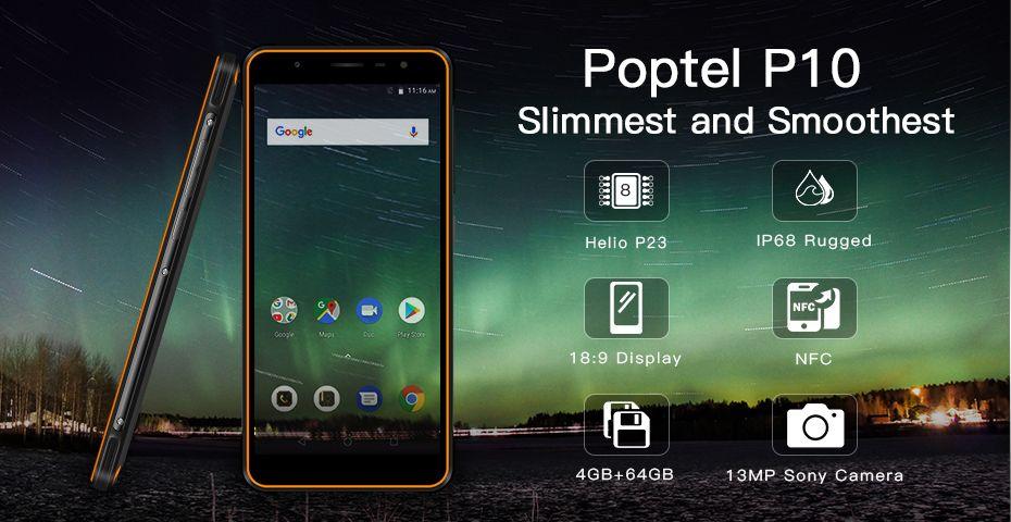 POPTEL P10 - Лучший прочный смартфон!
