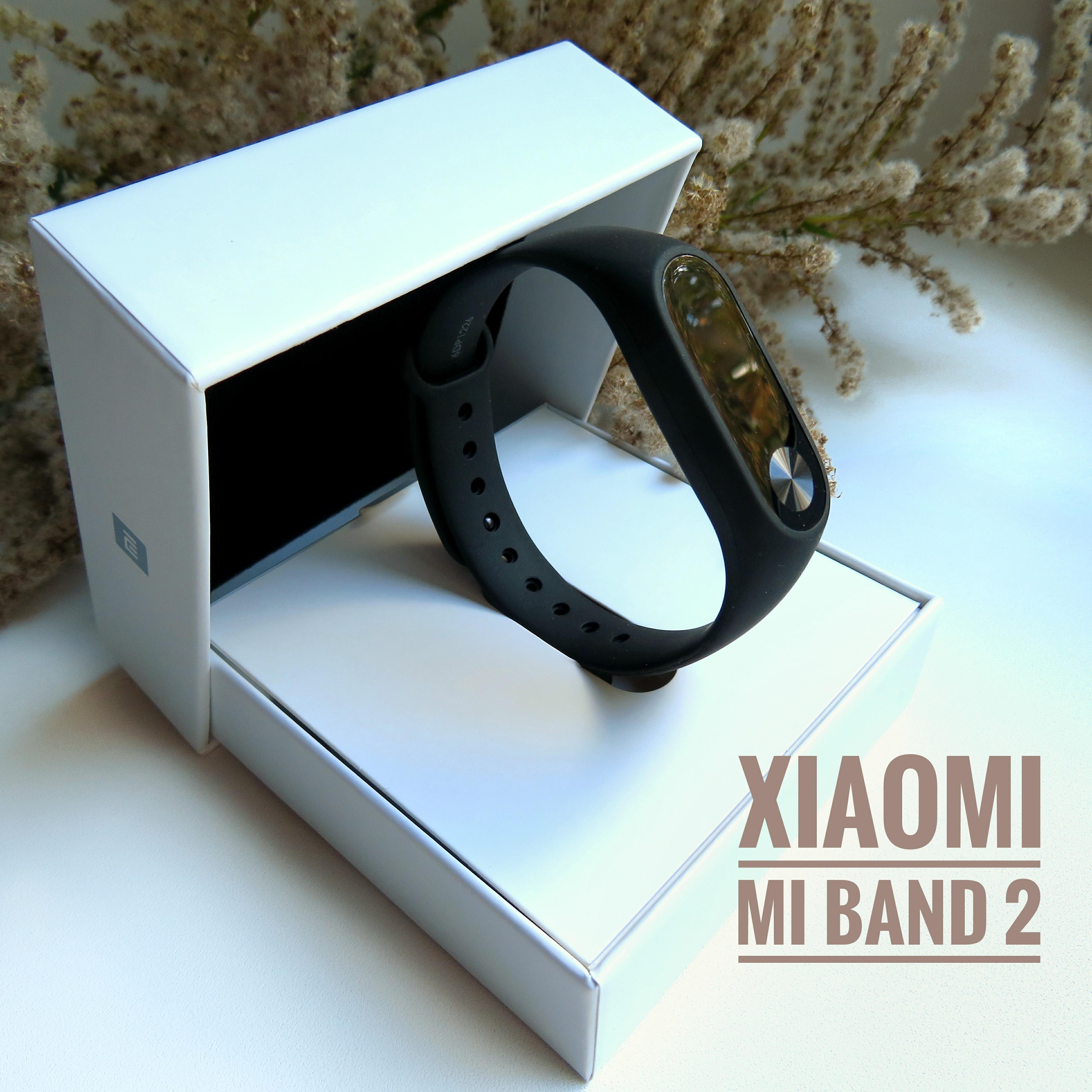Водонепроницаемый фитнес браслет XIAOMI Mi BAND 2