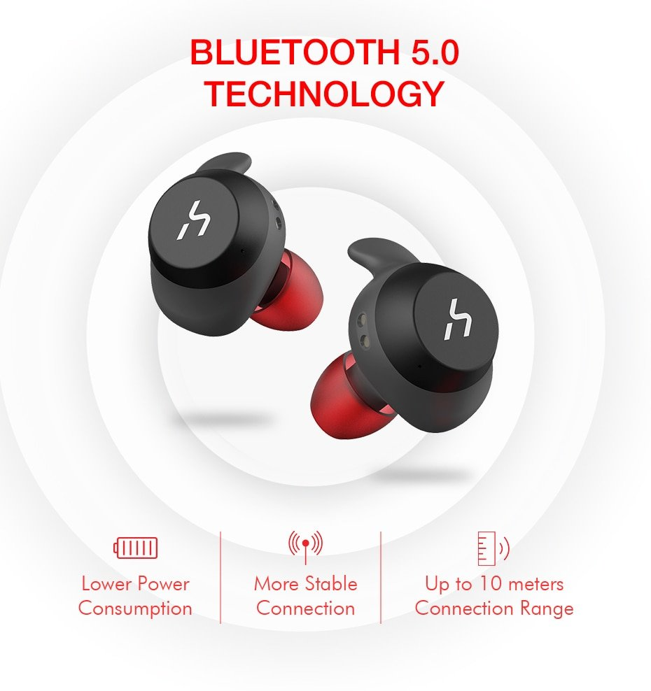 HAVIT СПЦ Bluetooth  True Беспроводной спортивные наушники