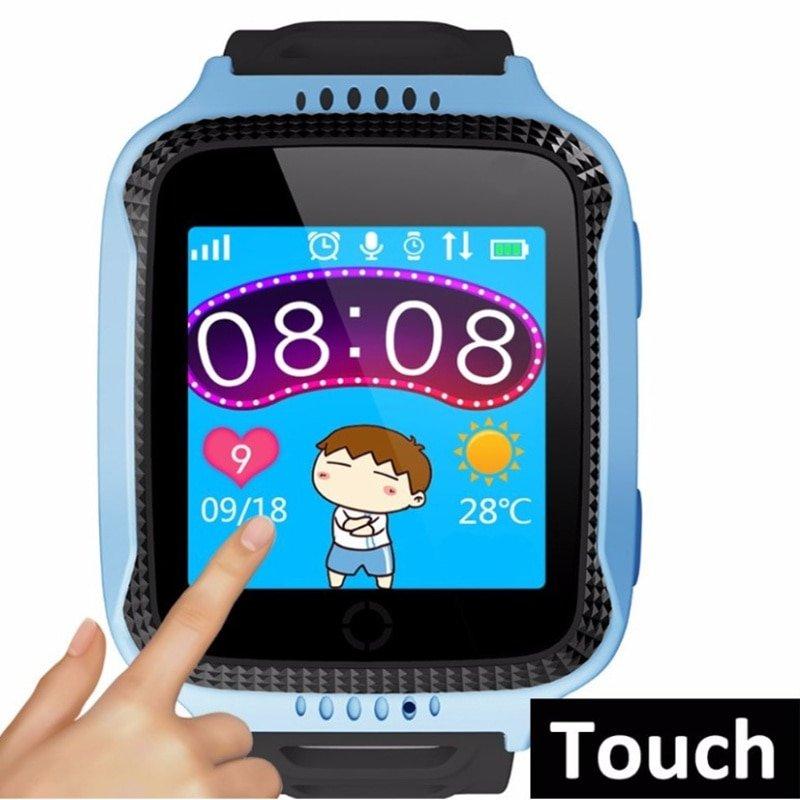Q528 ДЕТСКИЕ Смарт-часы gps Камера фонарик SOS вызов