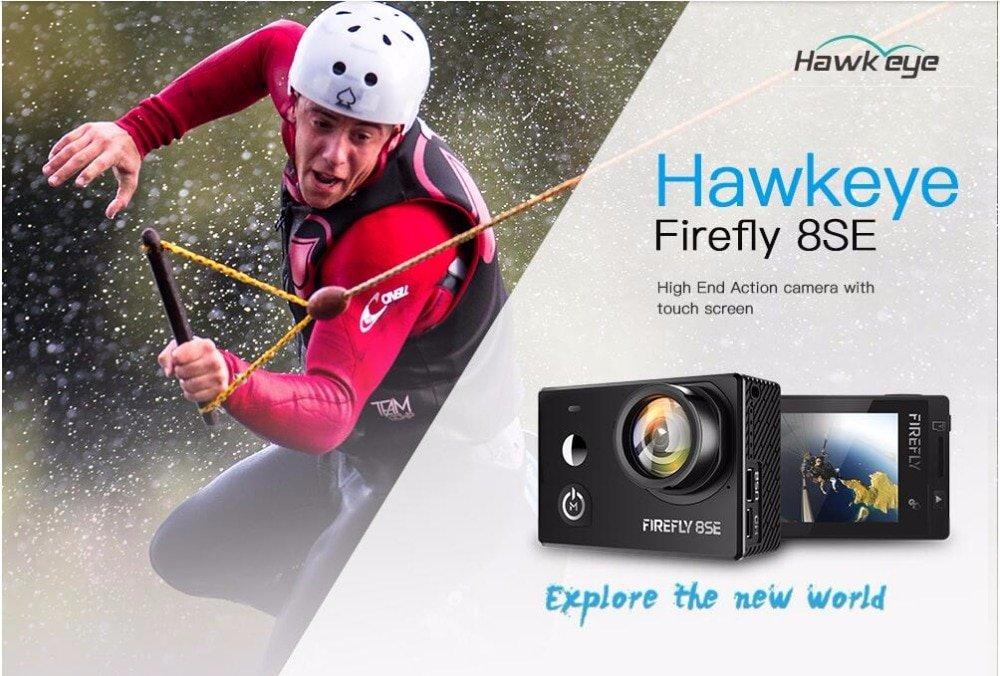ЭКШН КАМЕРА  Hawkeye Firefly 8SE