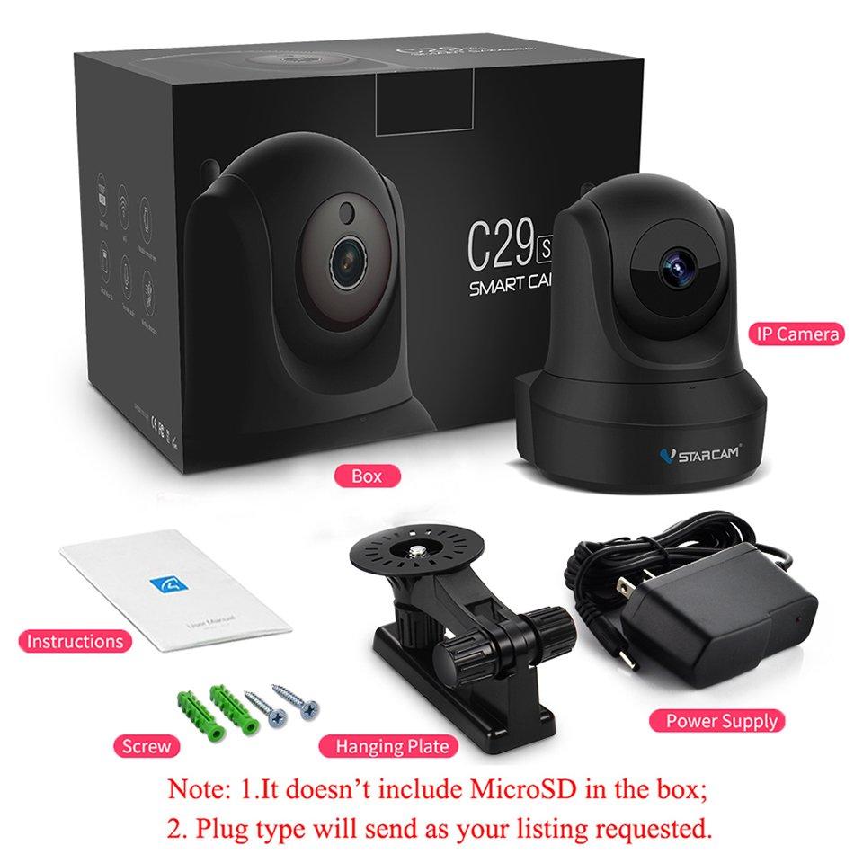 VStarcam C29S 1080P Full HD Беспроводная IP-камера