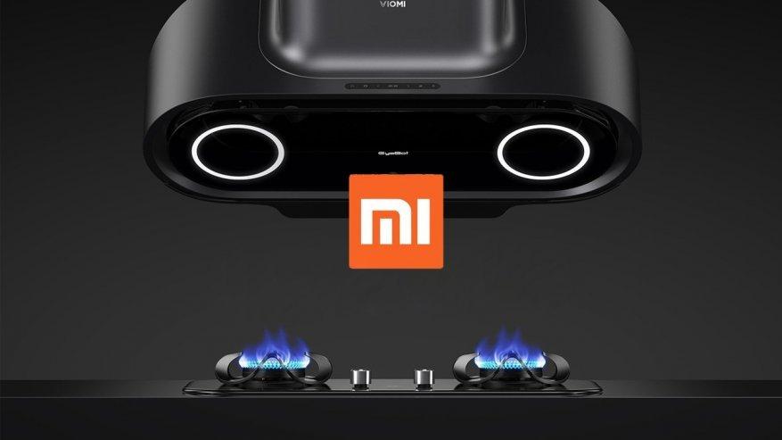 Самая умная вытяжка Xiaomi Viomi Smart AI Hood EyeBot