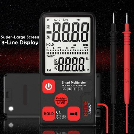 Digital and automatic multimeter