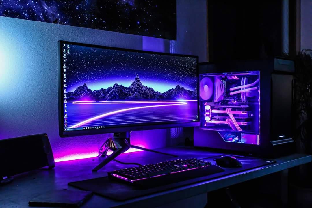 зимних красивая картинка игрового компьютера самом деле