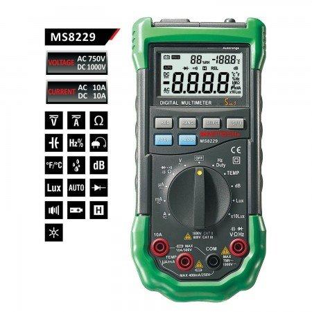мультиметр mastech ms8229.