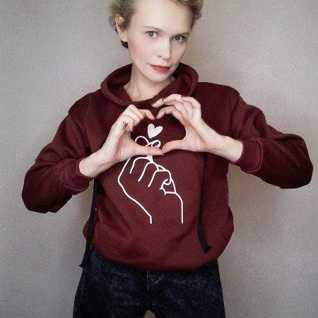 Толстовка с сердечком для любимых 14