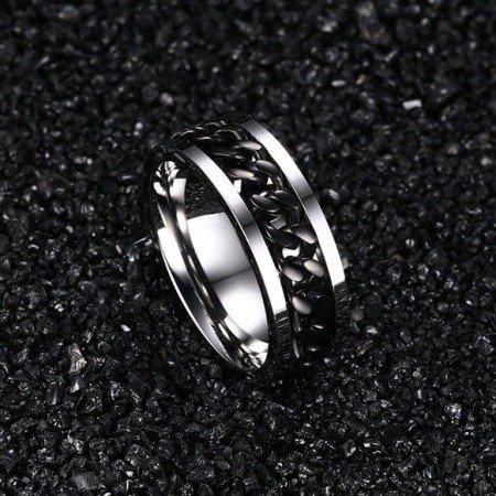 Стальное кольцо антистресс.